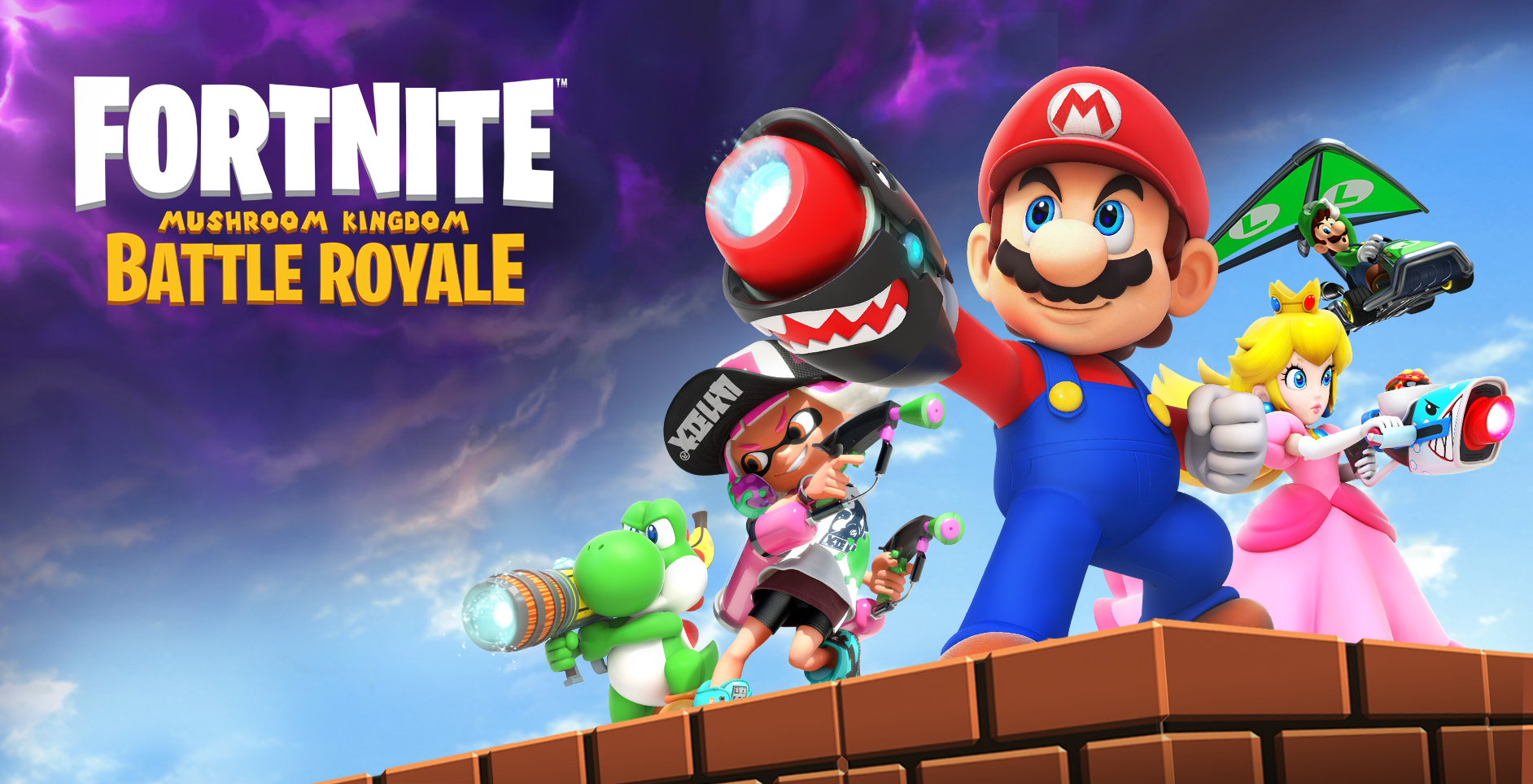 Fortnite Mushroom Kingdom Battle Royale Is Coming To Nintendo Switch