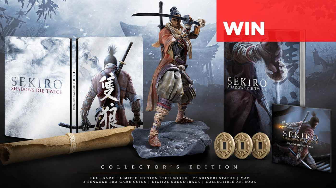 Win Sekiro Shadows Die Twice Collector S Edition Ps4