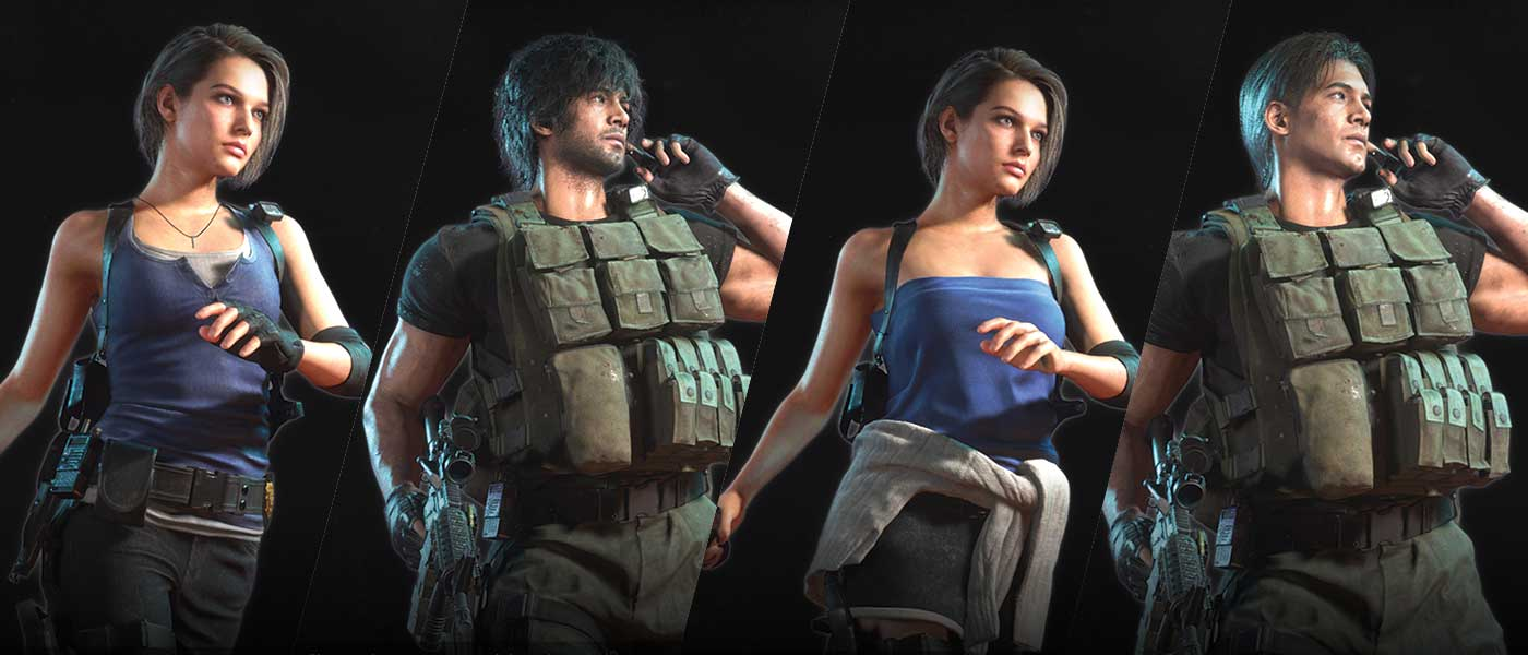 Here S Your First Look At The Unlockable Costumes In Resident Evil 3