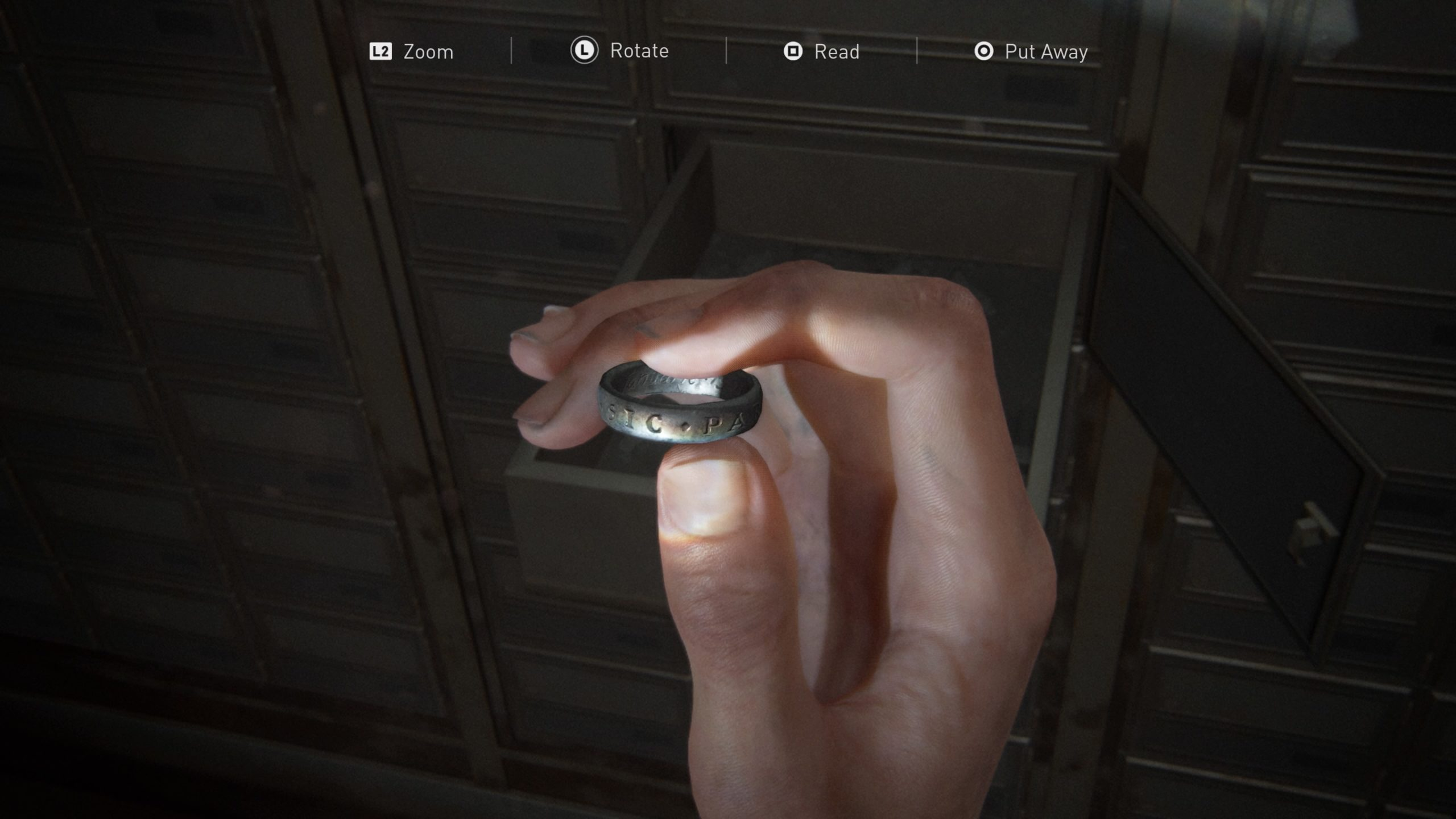 Where To Find The Engraved Ring In The Last Of Us Part Ii So Great And Small Trophy