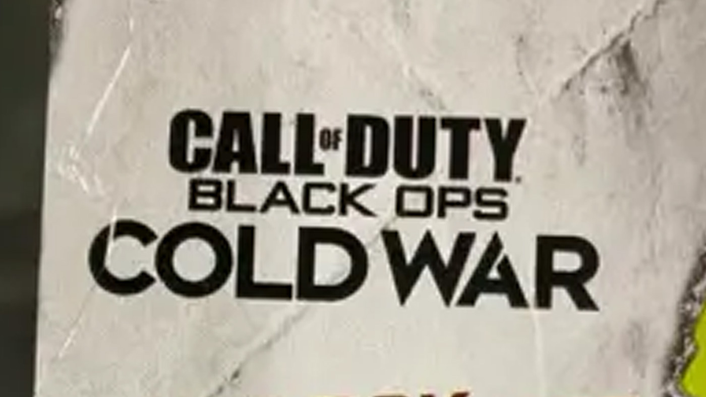 The Call Of Duty Black Ops Cold War Logo Looks To Have Leaked On